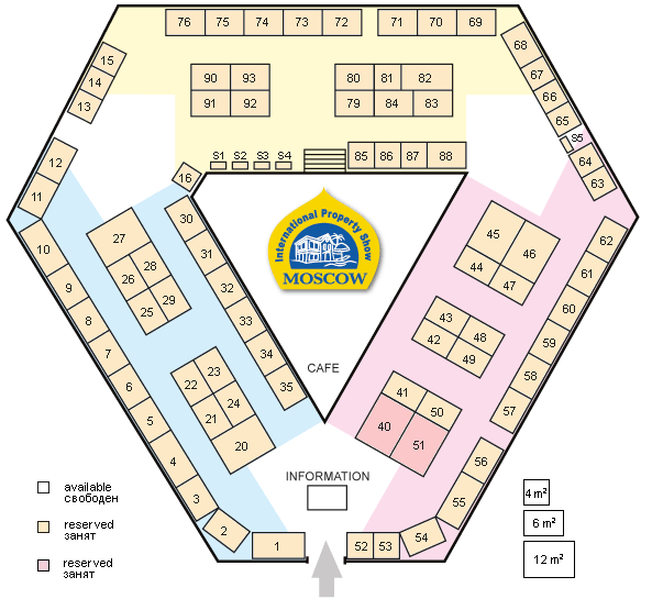Property Show Stand Plan